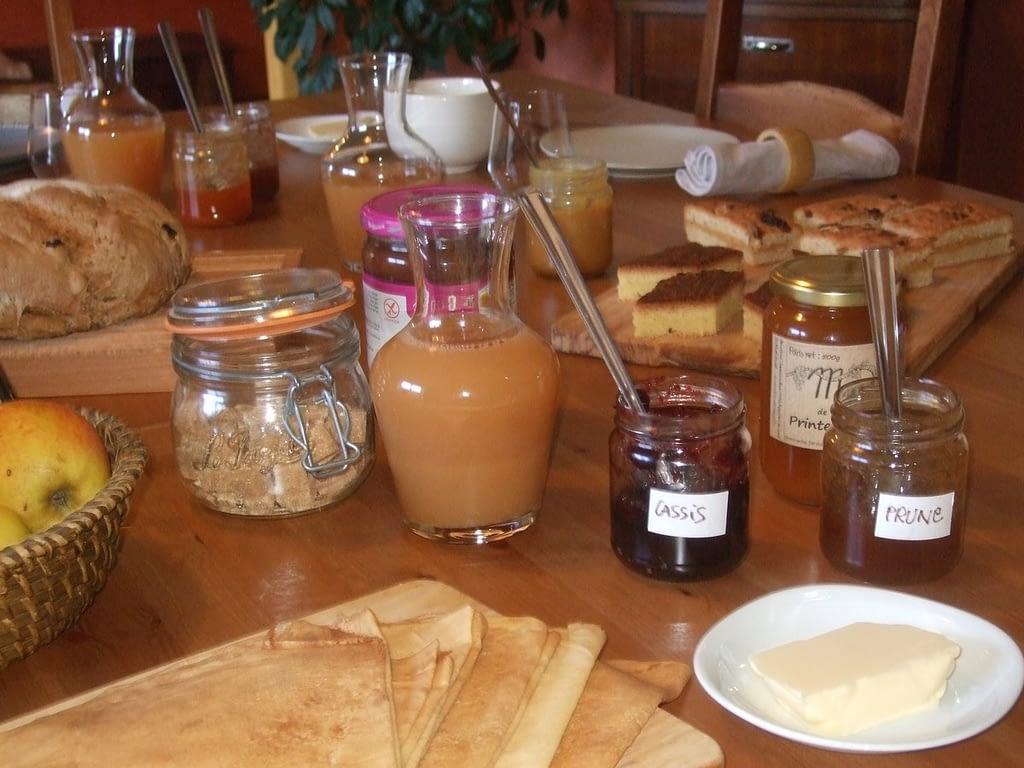Petit déjeuner chambre d'hôtes Finistère