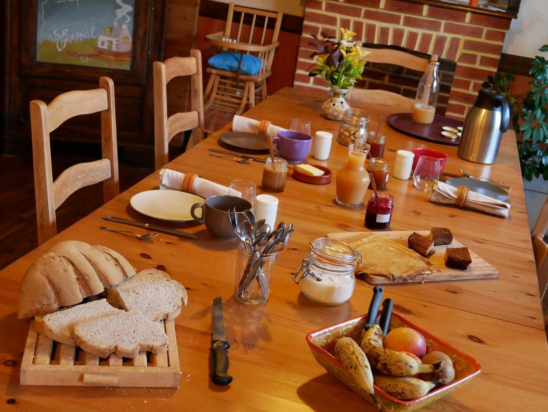Chambre d'hôtes et petit déjeuner maison