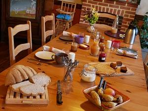 Chambre d'hôtes Finistère et petit déjeuner fait maison