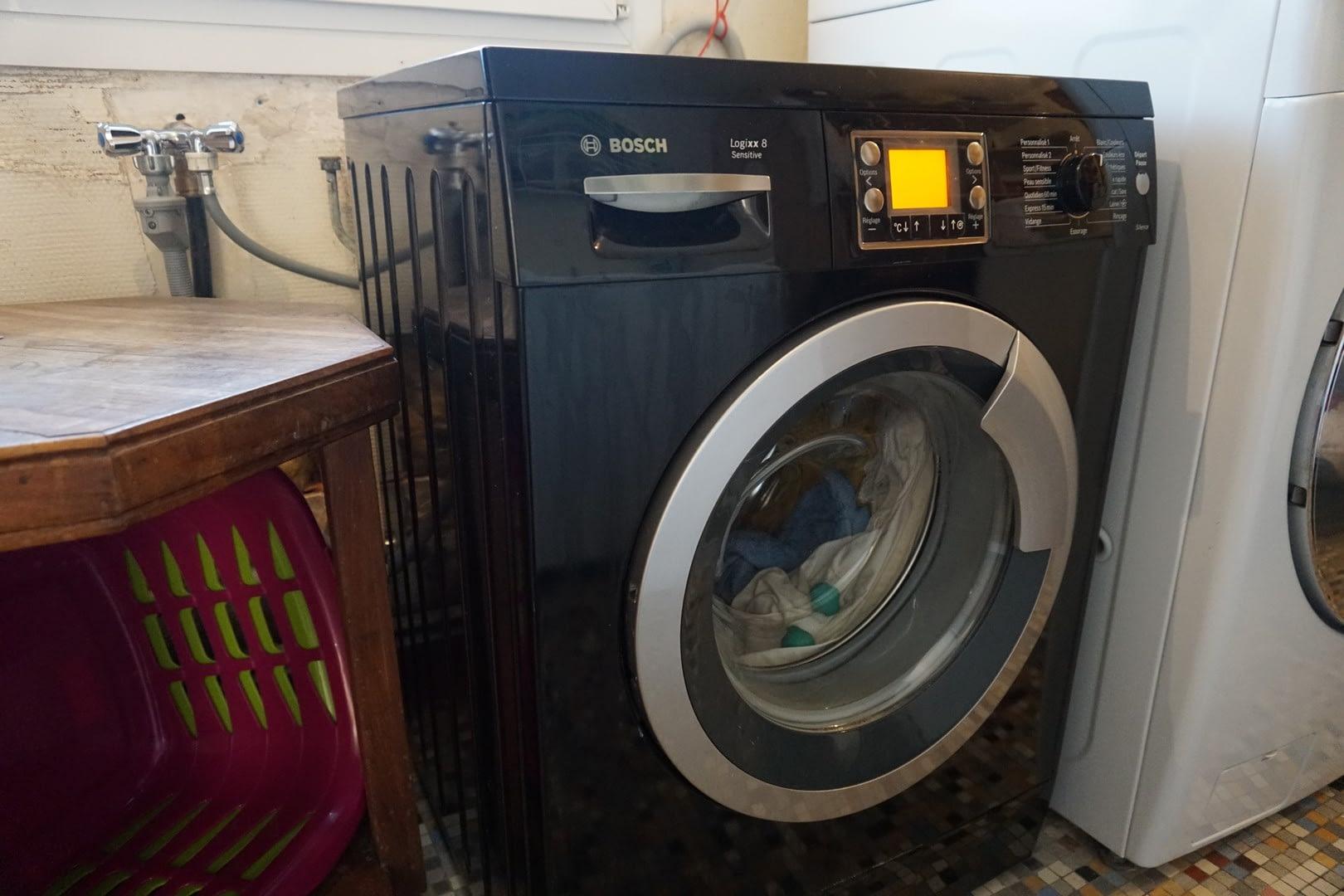 Chambre d'hôtes Finistère: machine à laver à disposition