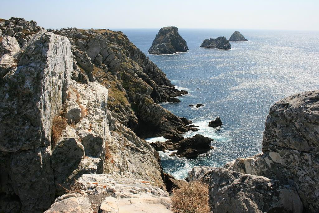 gr34 Bretagne, Pointe de Penhir presqu'ile de Crozon